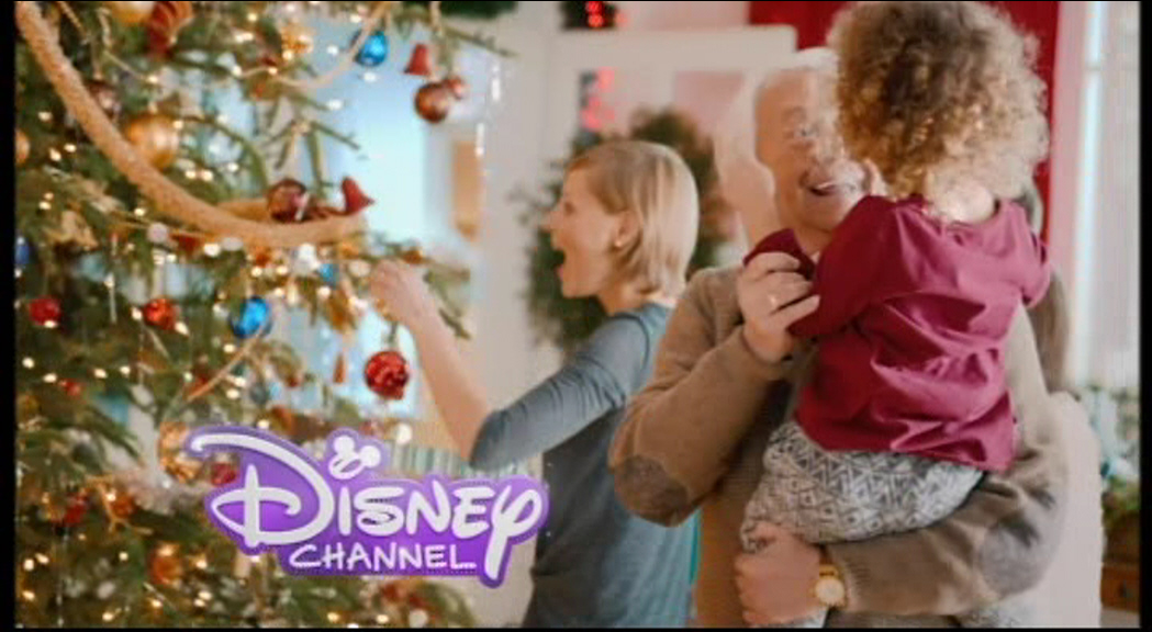 ident a 14 seconds disneyabc television group - Disney Channel Christmas